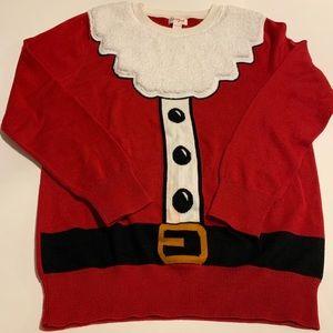 Cat & Jack Santa Sweater Size 8/10
